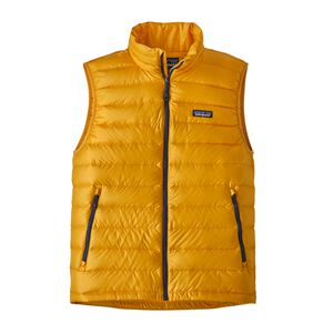 M's Down Sweater Vest, Rugby Yellow (RGBY)