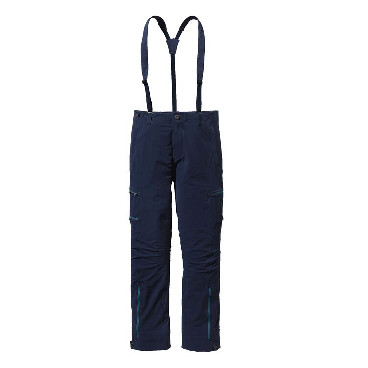 M'S DUAL POINT ALPINE PANTS, Navy Blue w/Deep Sea Blue (NVDE)