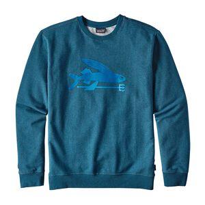 メンズ・フライング・フィッシュ・ミッドウェイト・クルー・スウェットシャツ, Big Sur Blue (BSRB)