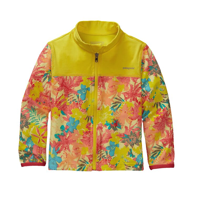 BABY LITTLE SOL RASH JKT, Neo Tropics Lite: Blazing Yellow (NBZY)