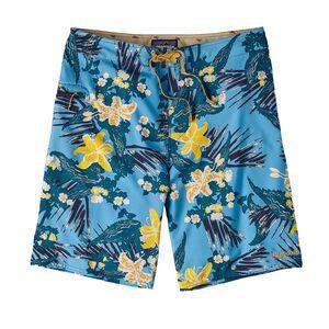 "M's Stretch Planing Board Shorts - 20"", Kelp Garden: Navy Blue (KGNV)"