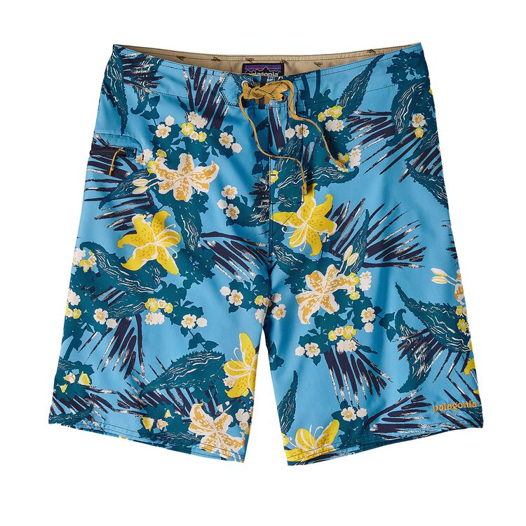 M'S STRETCH PLANING BOARD SHORTS - 20 IN, Kelp Garden: Navy Blue (KGNV)