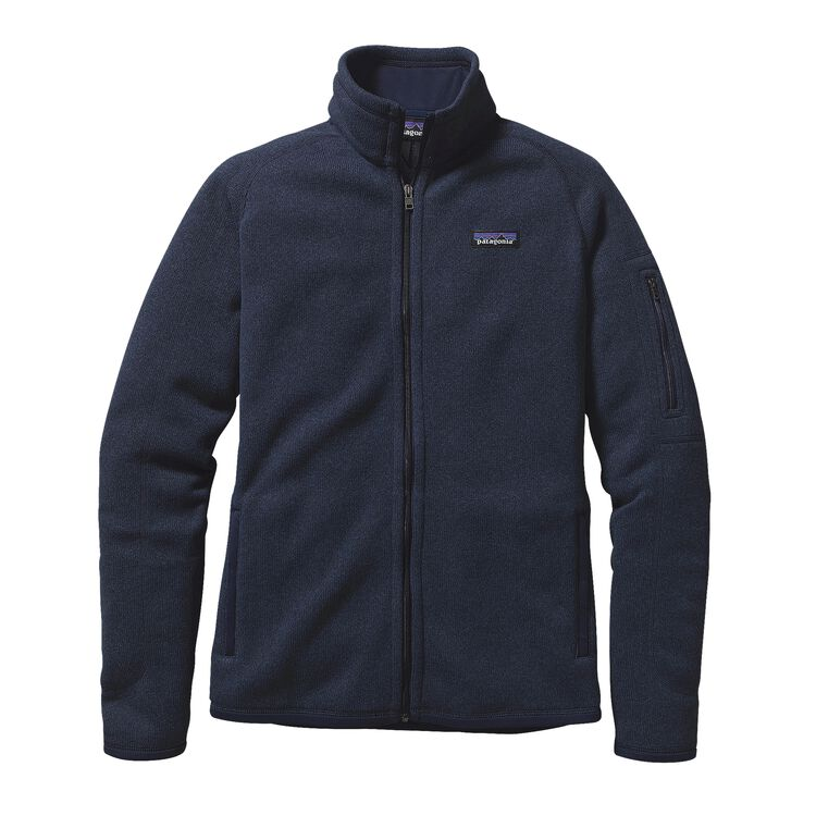 W'S BETTER SWEATER JKT, Classic Navy (CNY)