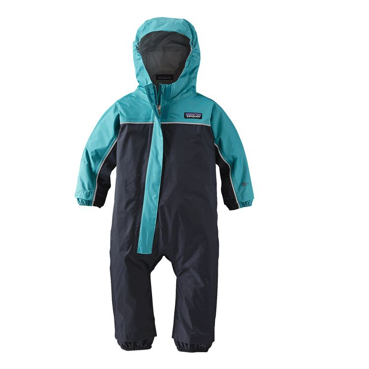 BABY TORRENTSHELL ONE-PIECE, Smolder Blue (SMDB)