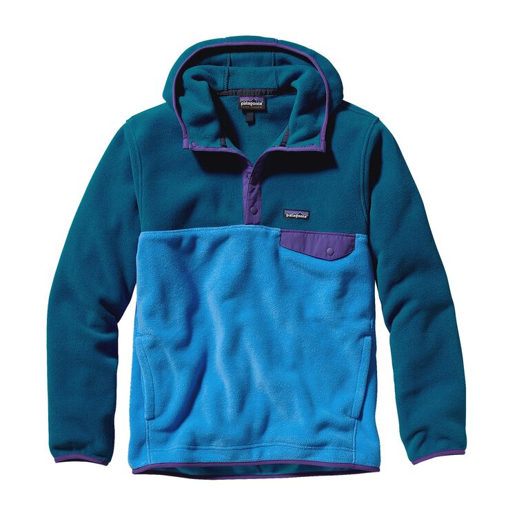 M'S SYNCH SNAP-T HOODY, Electron Blue (ECTB)