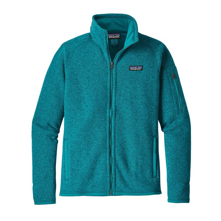 W'S BETTER SWEATER JKT, Elwha Blue (ELWB)