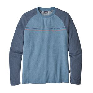 M's Tide Ride Lightweight Crew Sweatshirt, Railroad Blue (RBE)