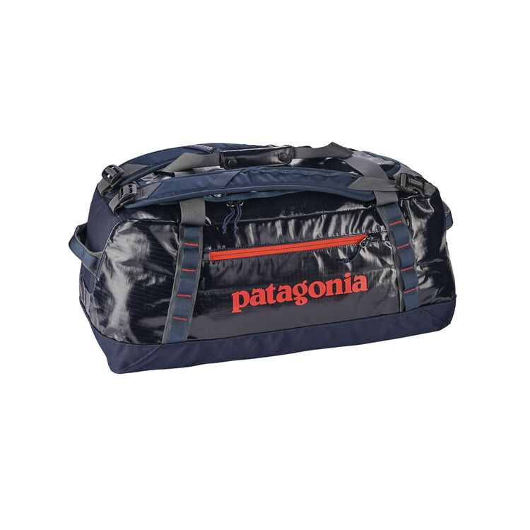 BLACK HOLE DUFFEL 60L, Navy Blue w/Paintbrush Red (NPTR)
