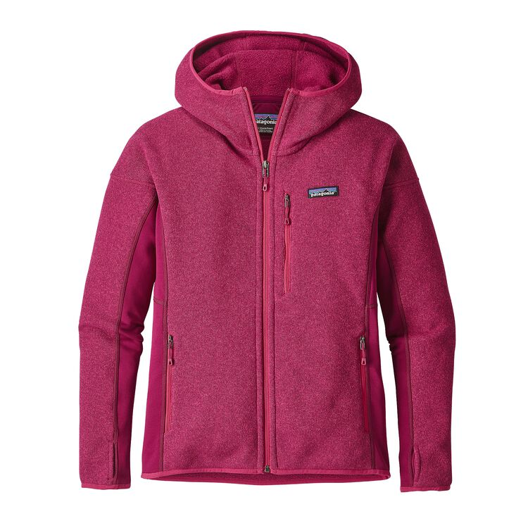 W'S PERFORMANCE BETTER SWEATER HOODY, Magenta (MAG)