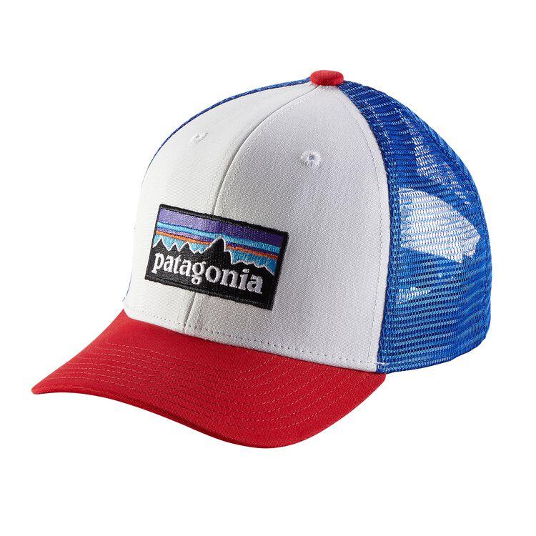K'S TRUCKER HAT, P-6 Logo: White (PLWT)