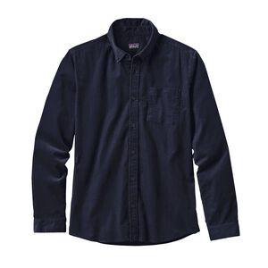 M's Long-Sleeved Bluffside Cord Shirt, Navy Blue (NVYB)