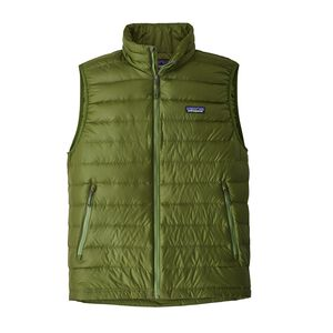M's Down Sweater Vest, Sprouted Green (SPTG)