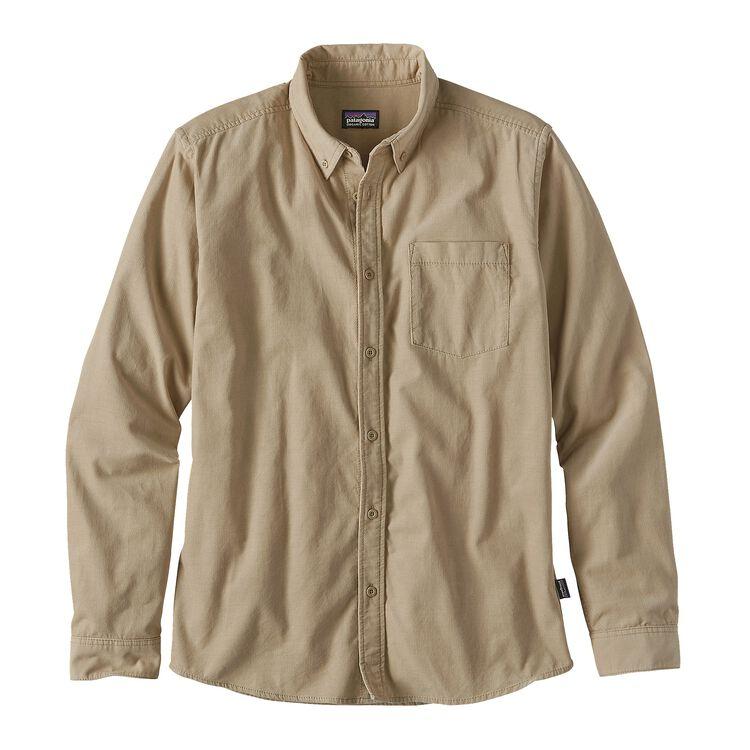 メンズ・ロングスリーブ・ブラフサイド・コード・シャツ, El Cap Khaki (ELKH)