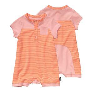ベビー・コージー・コットン・ショーティ, Itsy Bitsy Stripe: Peach Sherbet (IBPS)