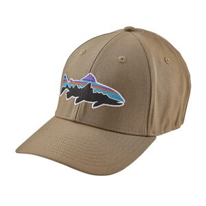 FITZ ROY TROUT STRETCH FIT HAT, Ash Tan (ASHT)