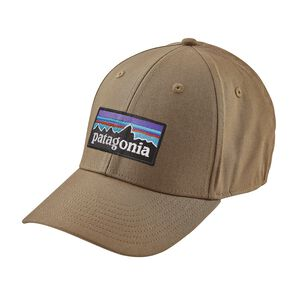 P-6 Logo Stretch Fit Hat, Ash Tan (ASHT)