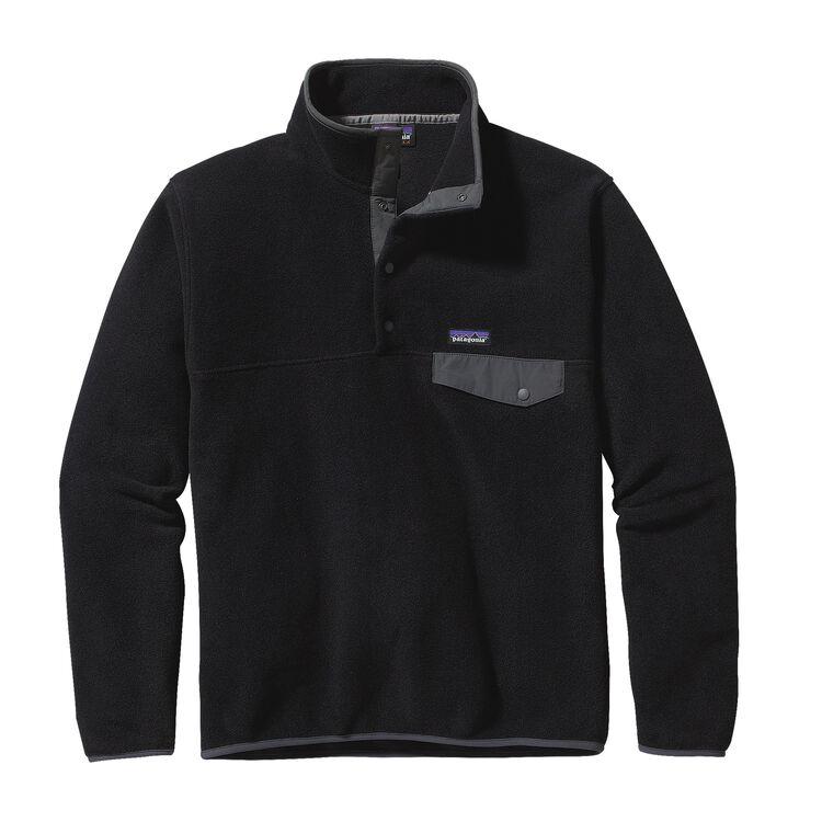 M'S LW SYNCH SNAP-T P/O, Black w/Forge Grey (BFO)