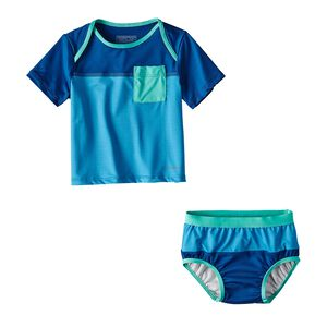 Infant Little Sol Swim Set, Radar Blue (RAD)