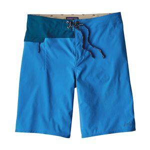 メンズ・ストレッチ・ハイドロ・プレーニング・ボード・ショーツ(53cm), Andes Blue (ANDB)
