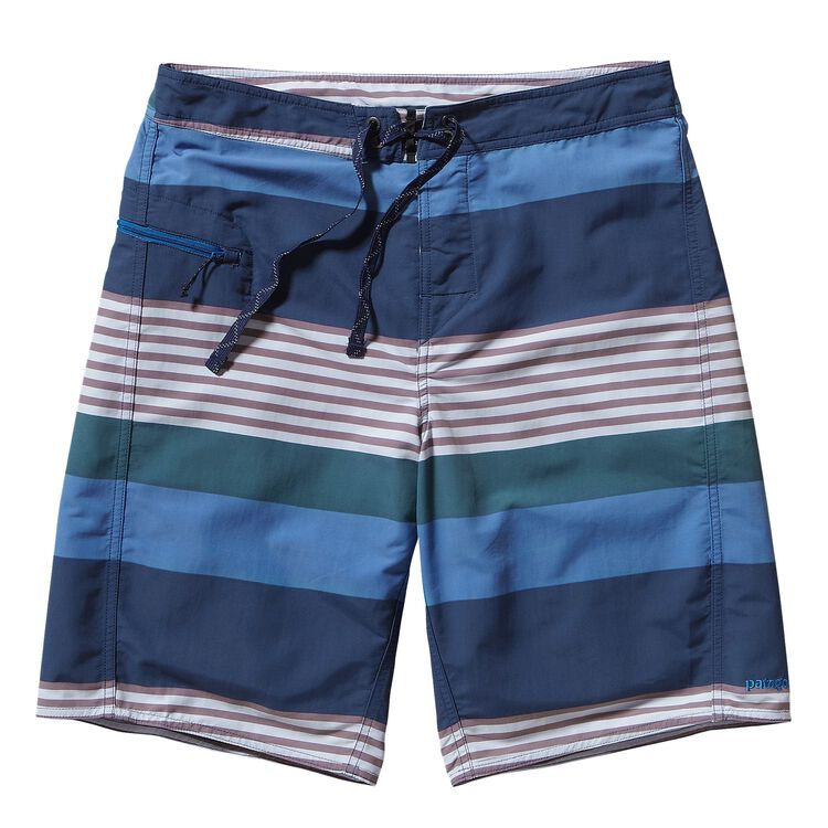 M'S WAVEFARER ENGINEERED BOARD SHORTS -, Fitz Stripe: Bali Blue (FTZB)