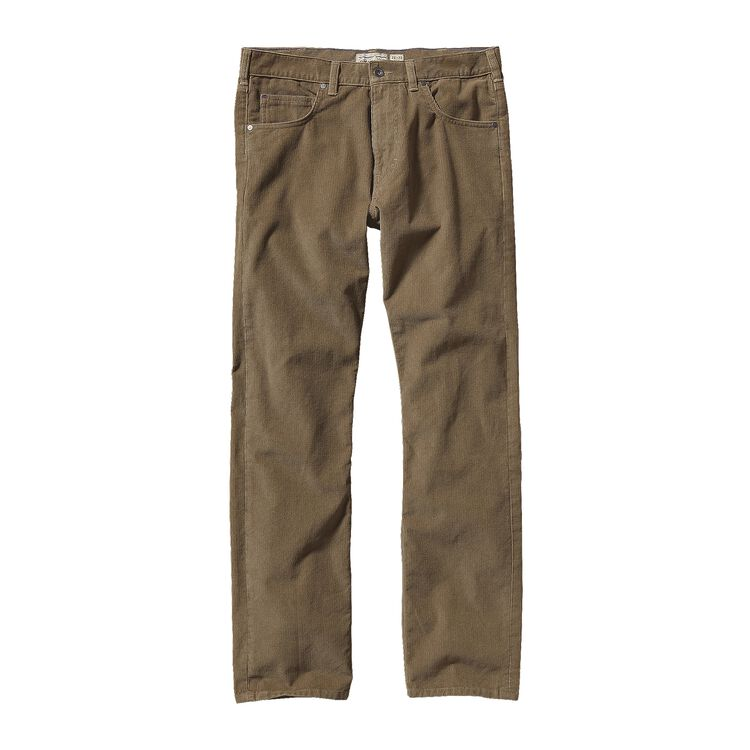 M'S STRAIGHT FIT CORDS - SHORT, Ash Tan (ASHT)