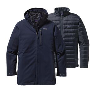 M's Tres 3-in-1 Parka, Navy Blue (NVYB)