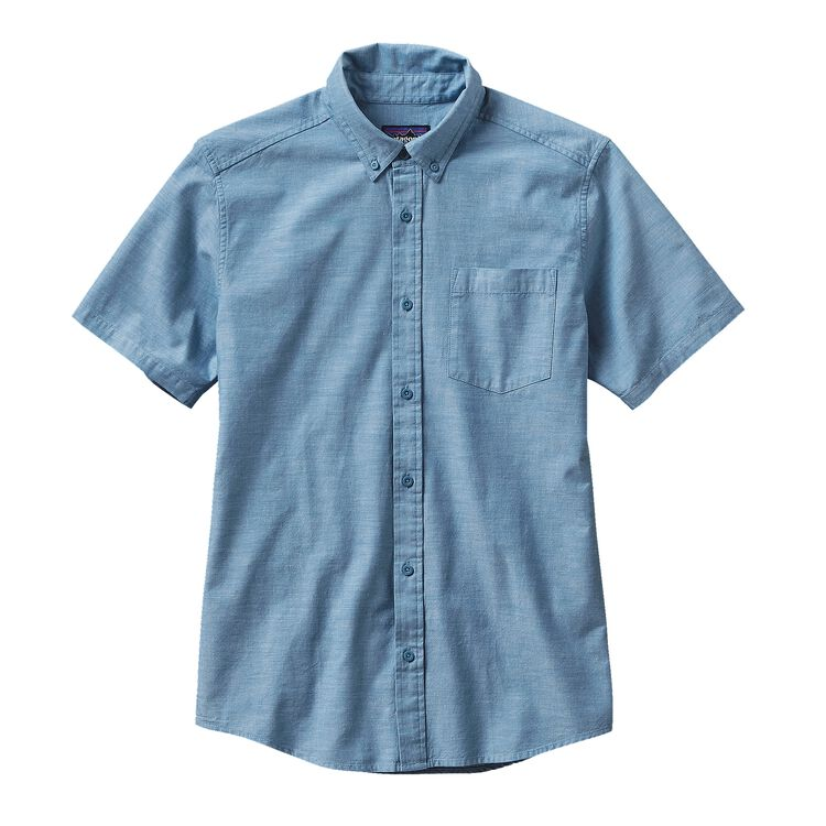 M'S BLUFFSIDE SHIRT, Chambray: Catalyst Blue (CCYB)