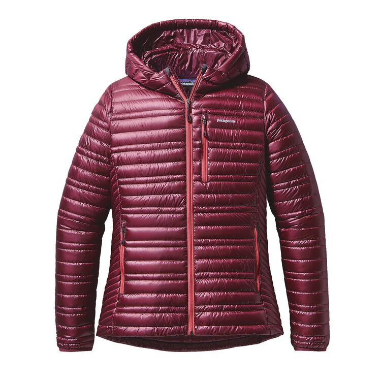 W'S ULTRALIGHT DOWN HOODY, Oxblood Red (OXRD)
