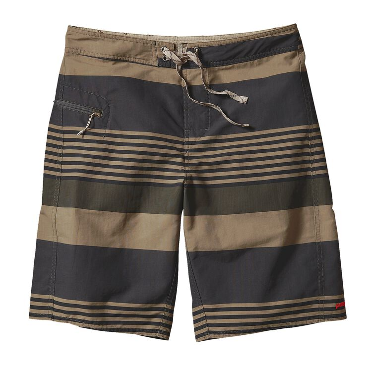 M'S PRINTED WAVEFARER BOARD SHORTS - 21, Fitz Stripe: Basin Green (FZBG)