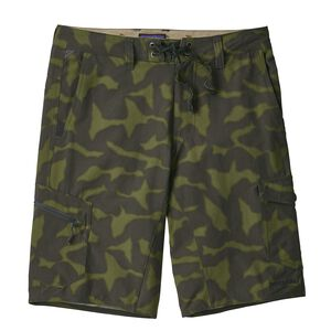 "M's MOC Hybrid Shorts - 21"", Aerial Camo: Smoked Green (AESM)"