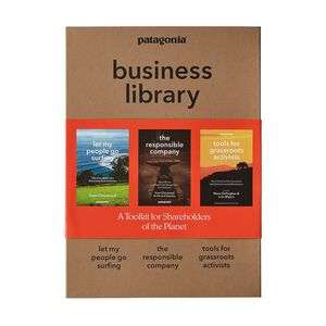 Patagonia Business Library: Including Let My People Go Surfing, The Responsible Company, and Tools for Grassroots Activists (3 paperback books in a cardboard keepsake box), multi (none-000)