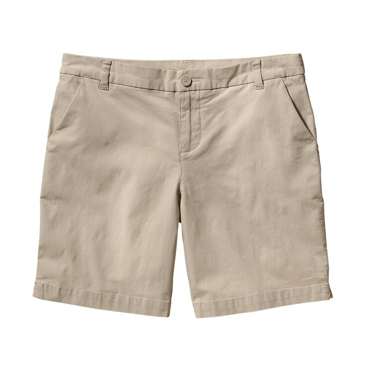 W'S STRETCH ALL-WEAR SHORTS, Bleached Stone (BLST)