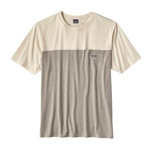 M's Clean Color Block Tee, Clean Pomegranate Grey (CPNG)