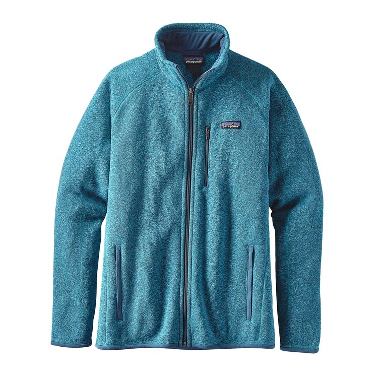 M'S BETTER SWEATER JKT, Filter Blue (FLTB)