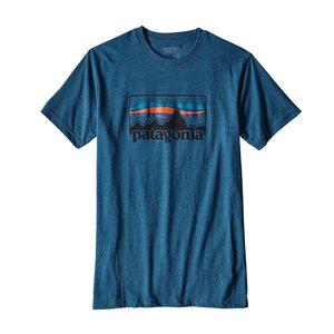 メンズ・'73 ロゴ・コットン/ポリ・Tシャツ, Big Sur Blue (BSRB)