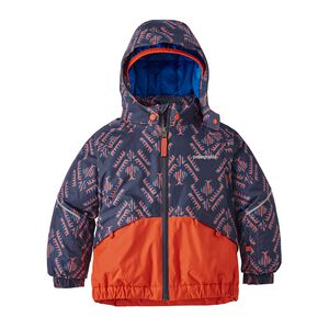 Baby Snow Pile Jacket, Riverbird: Paintbrush Red (RVPB)