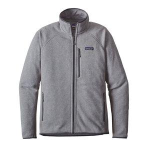 メンズ・パフォーマンス・ベター・セーター・ジャケット, Feather Grey (FEA)