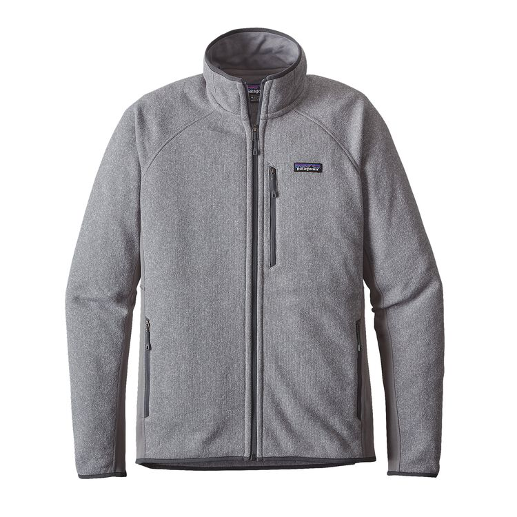 M'S PERFORMANCE BETTER SWEATER JKT, Feather Grey (FEA)