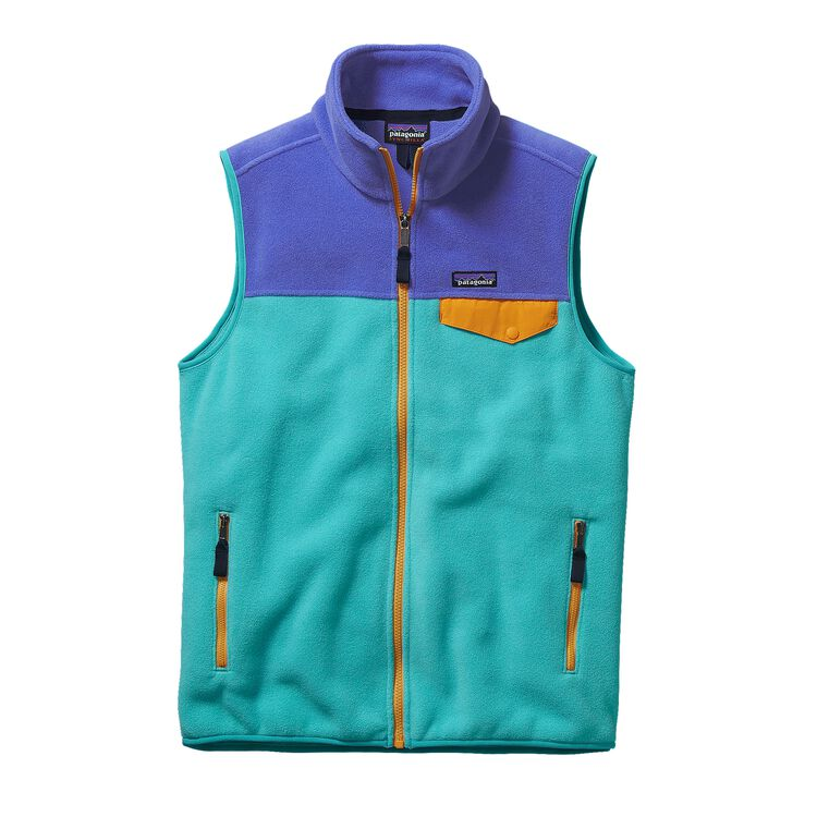 M'S LW SYNCH SNAP-T VEST, Howling Turquoise (HWLT)