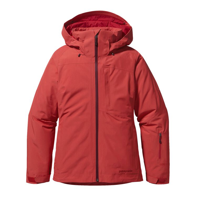 W'S INSULATED POWDER BOWL JKT, Sumac Red (SUMR)