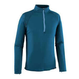 M'S CAP LW ZIP NECK, Big Sur Blue (BSRB)