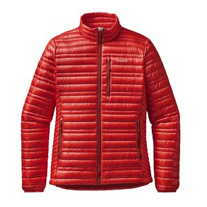 W'S ULTRALIGHT DOWN JKT, French Red (FRR)