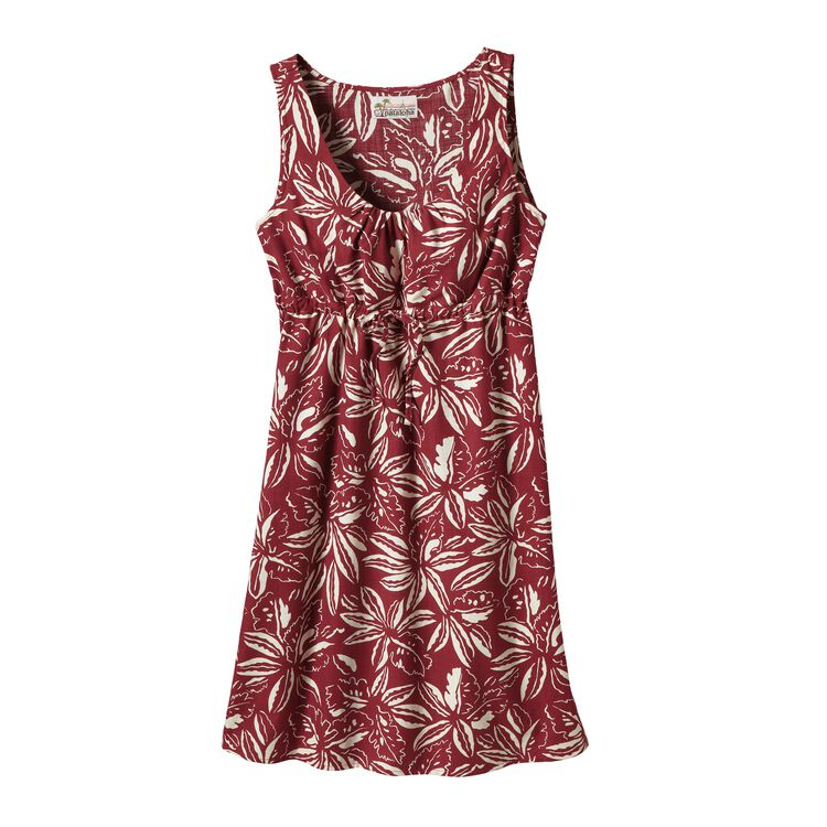 W'S LIMITED EDITION PATALOHA DRESS, Tropical: Drumfire Red (TPDR)