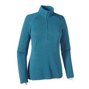 W's Capilene® Thermal Weight Zip-Neck, Ultramarine - Underwater Blue X-Dye (UUWX)