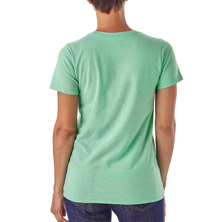 W's Eat Local Upstream Cotton/Poly Responsibili-Tee® ,