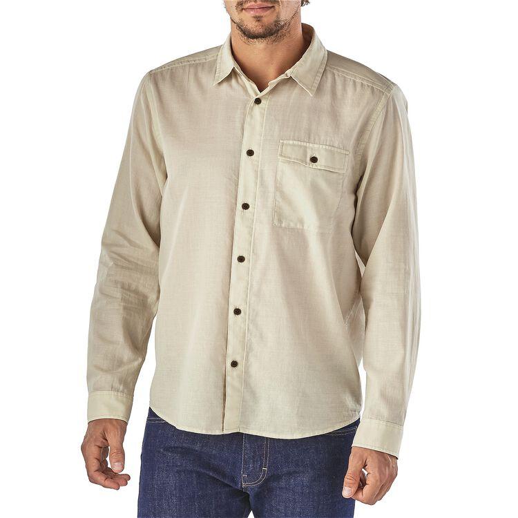メンズ・ロングスリーブ・ライトウェイト・A/Cシャツ,