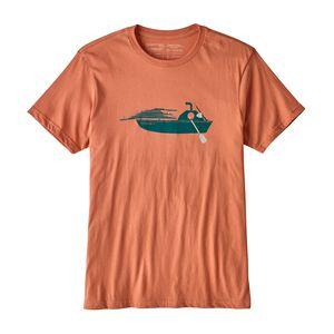 メンズ・ホール・アボード・オーガニック・Tシャツ, Quartz Coral (QZCO)