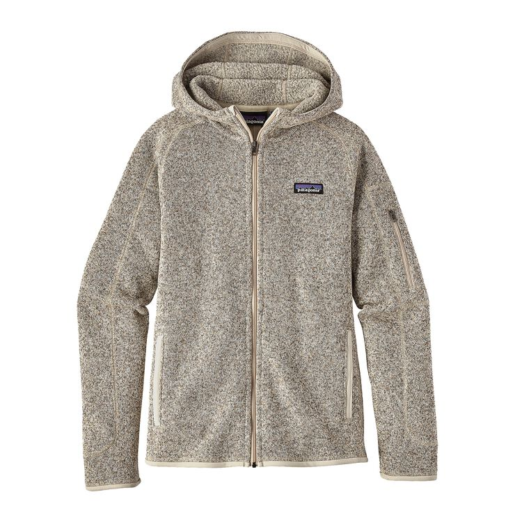 W'S BETTER SWEATER HOODY, Pelican (PLCN)
