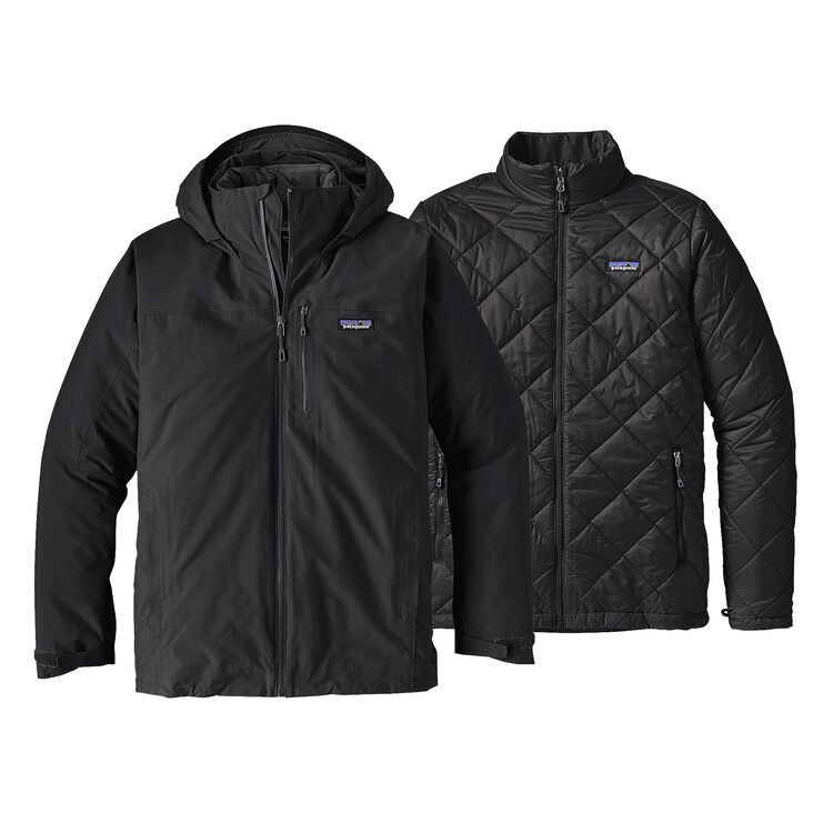 M'S WINDSWEEP 3-IN-1 JKT, Black (BLK)