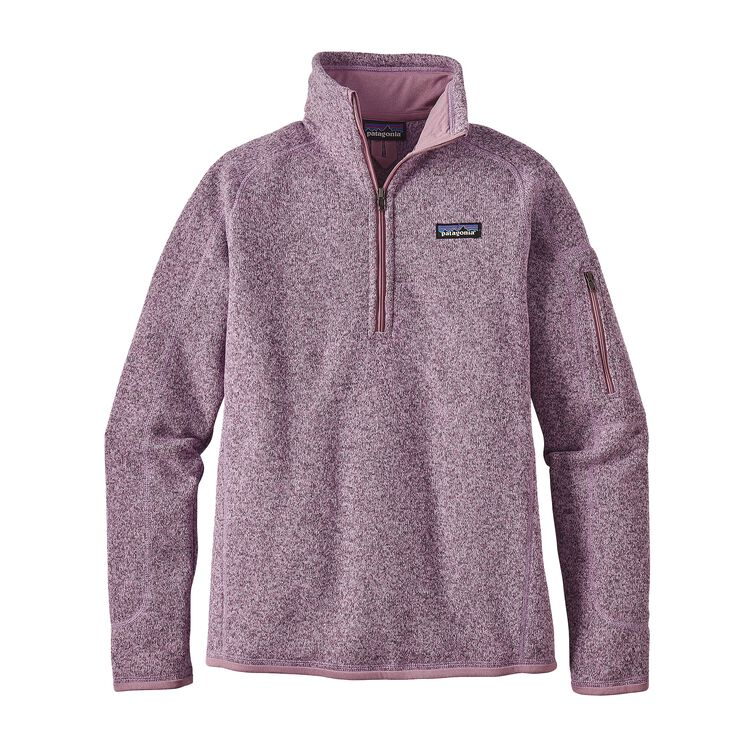 W'S BETTER SWEATER 1/4 ZIP, Dragon Purple (DRGP)